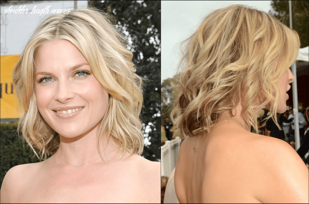 How to nail the medium length hair trend shoulder length waves