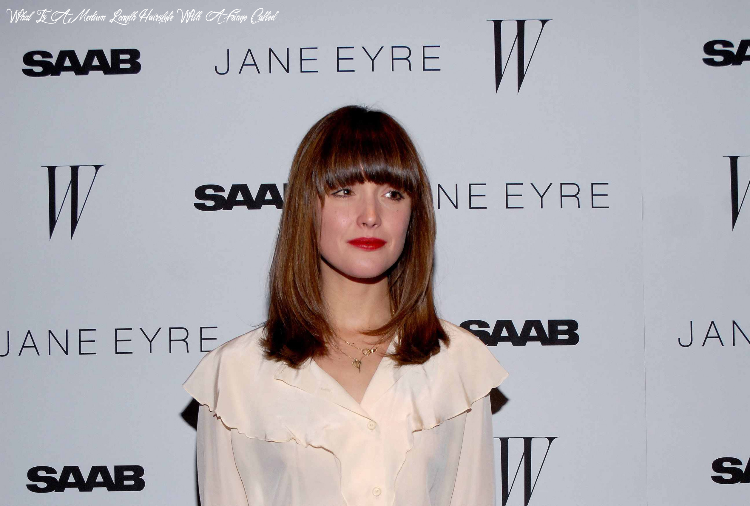 How to nail the medium length hair trend what is a medium length hairstyle with a fringe called