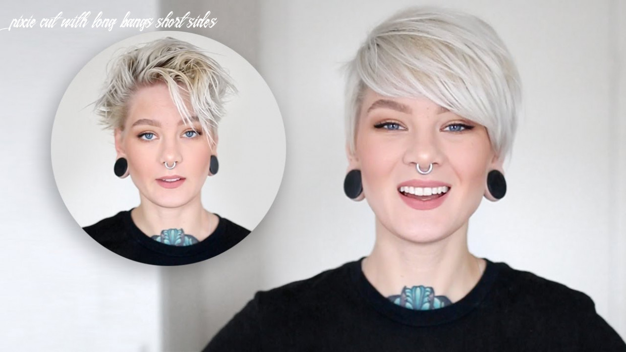 How to Style a Pixie Cut & Side Bangs in 12 Easy Steps