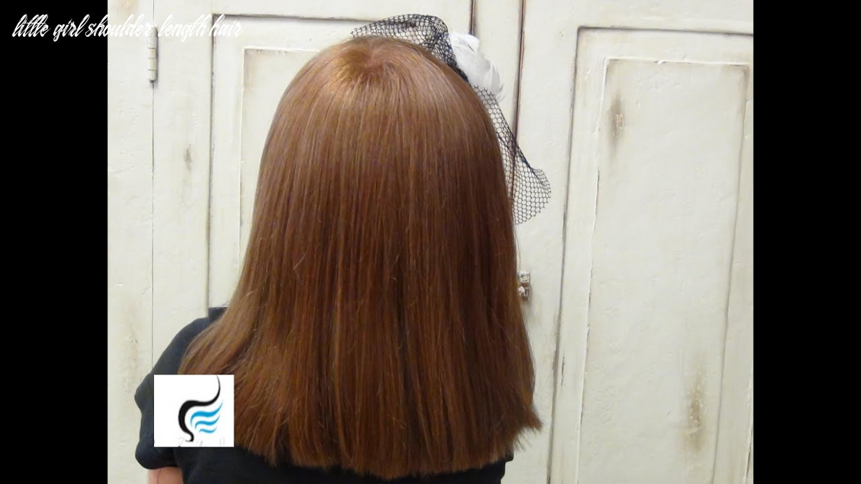 (how to style) medium layered hairstyles for little girls little girl shoulder length hair