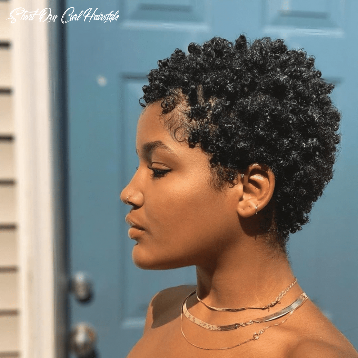 How to use a hair sponge for short natural hair short dry curl hairstyle