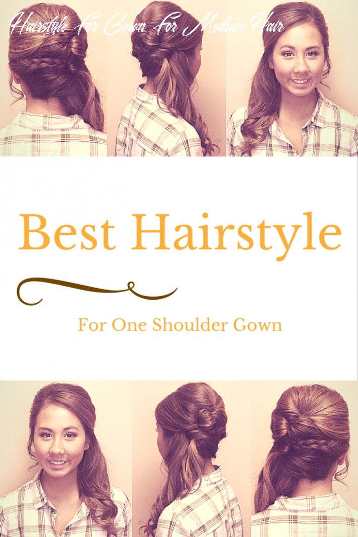 How to wear hair with a one shoulder gown? | bridesmaid hair side