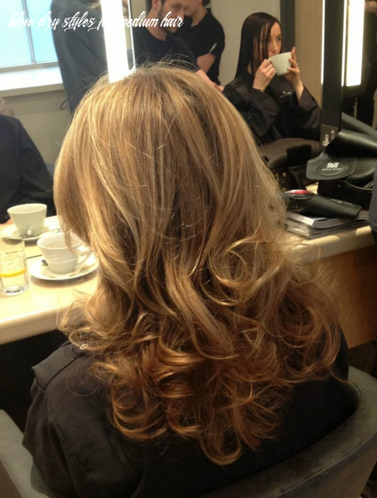 I got the perfect blow dry at trevor sorbie! | blow dry hair, hair