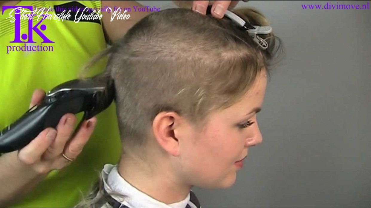 I love to go ultra short! clipper haircut of Jacky by Theo Knoop