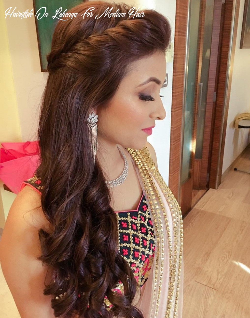Image by heena rajput on heena | long hair styles, front hair