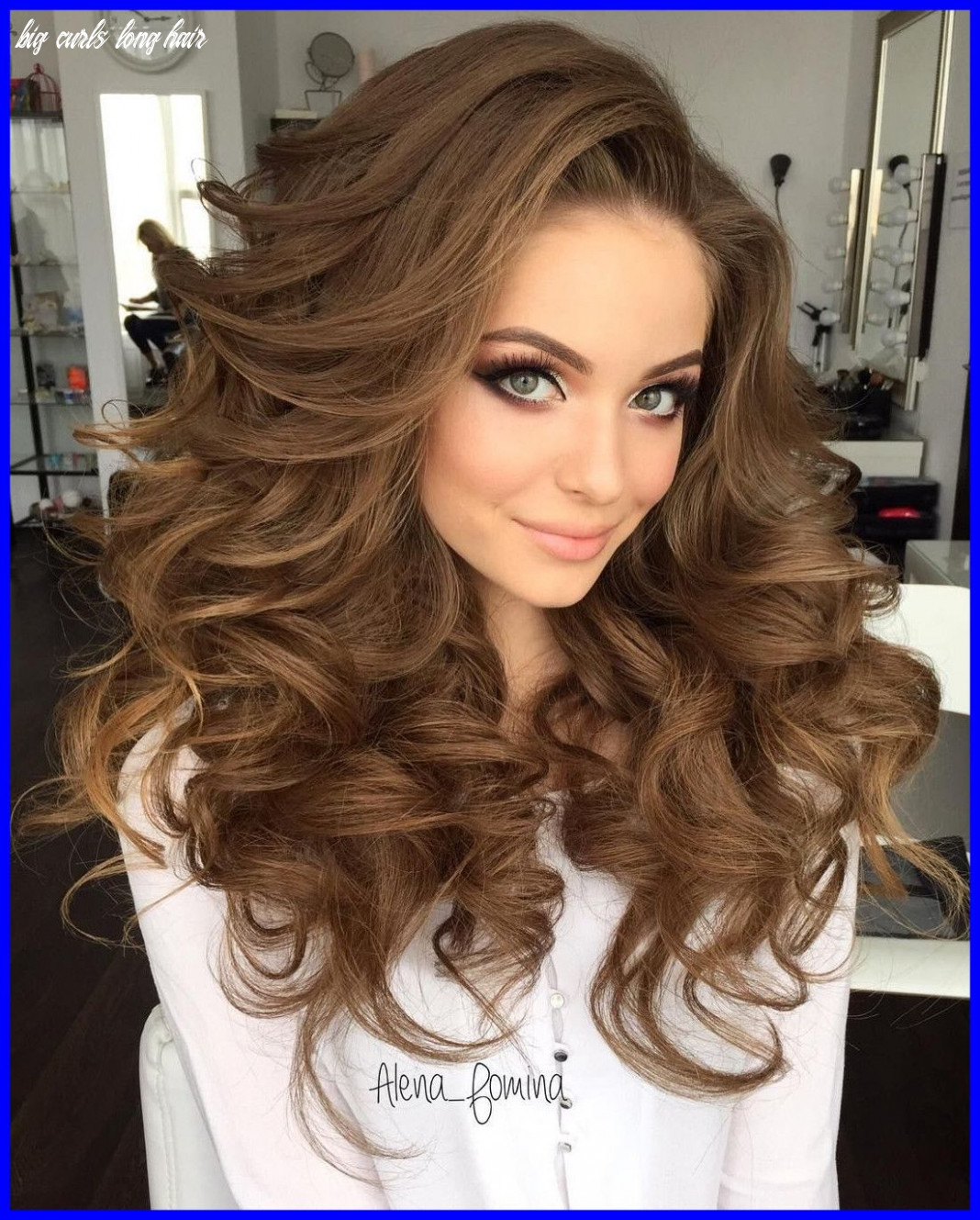 Image result for hairstyles for frizzy curly long hair | long hair