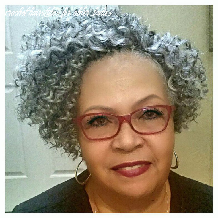 Image result for natural looking crochet braid styles for older