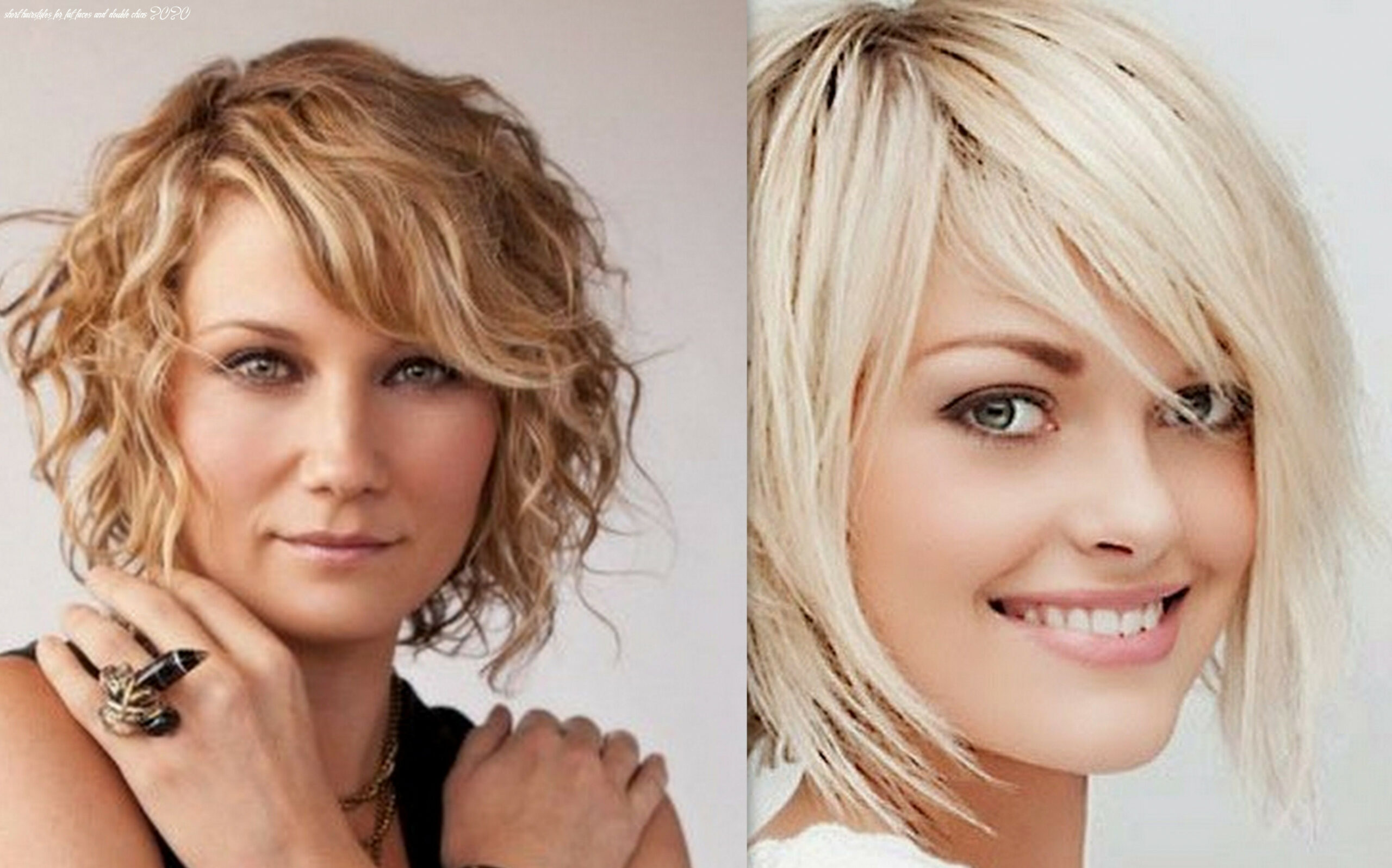 Image result for plus size short hairstyles for double chins