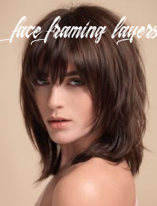 Image result for short hairstyle face framing layers | klipning