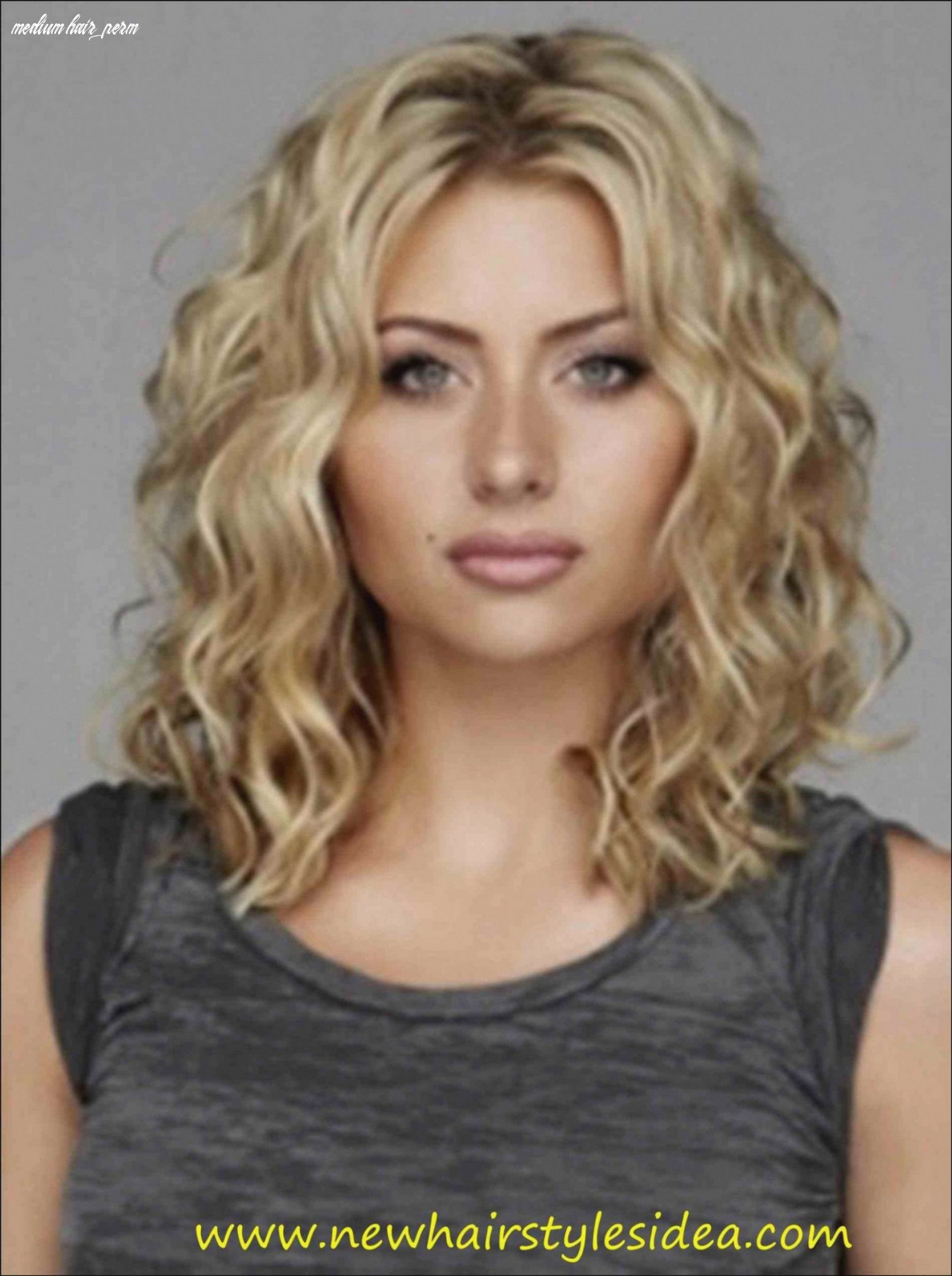 Image result for soft spiral perm | medium curly hair styles