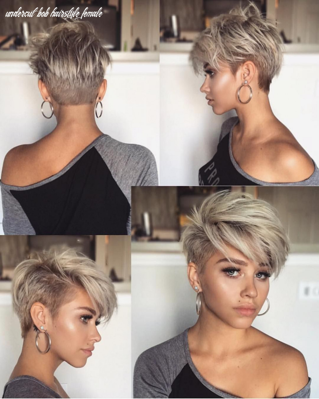 Image result for undercut bob haircuts | frisuren, schöne kurze