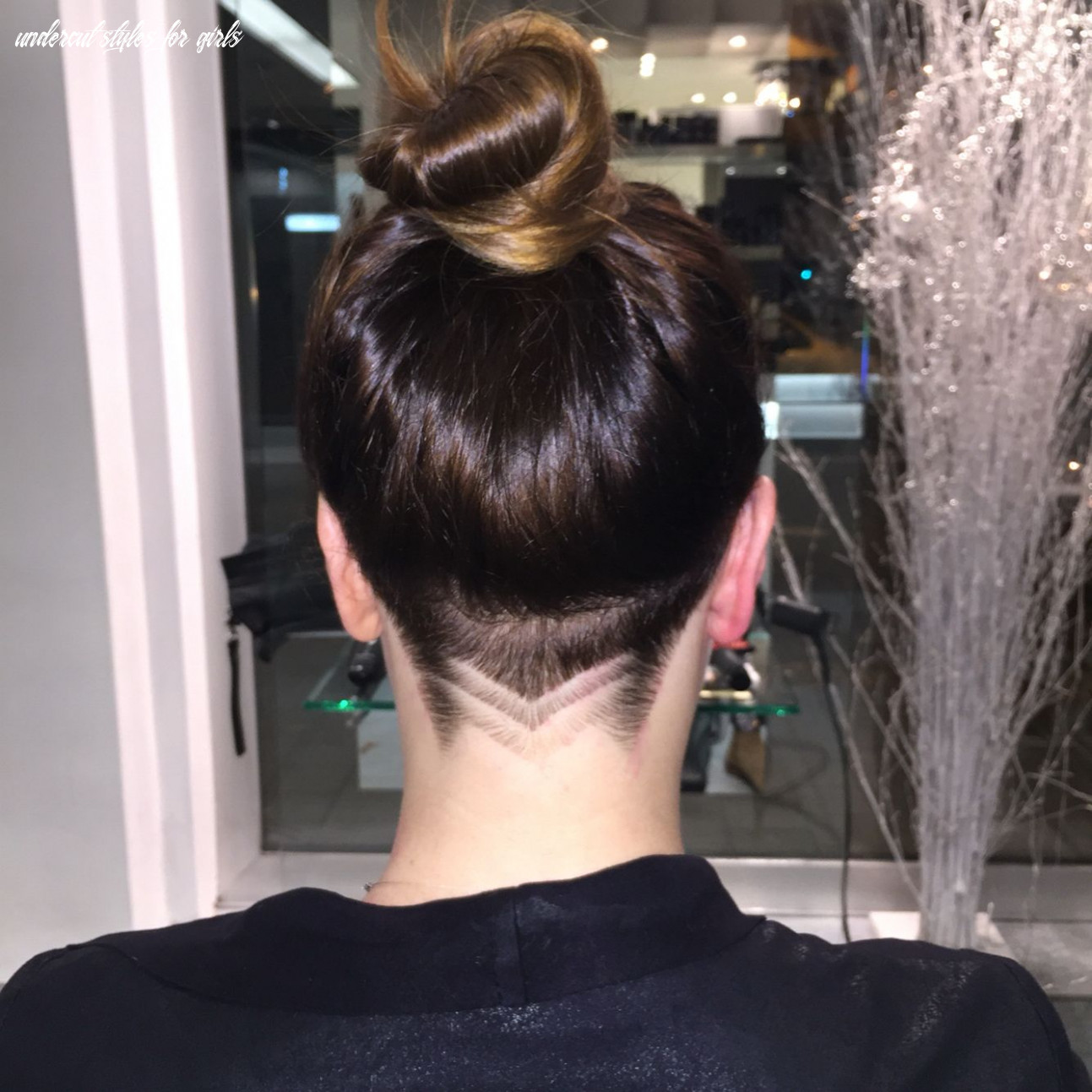 Image result for undercut side view long hair woman | undercut