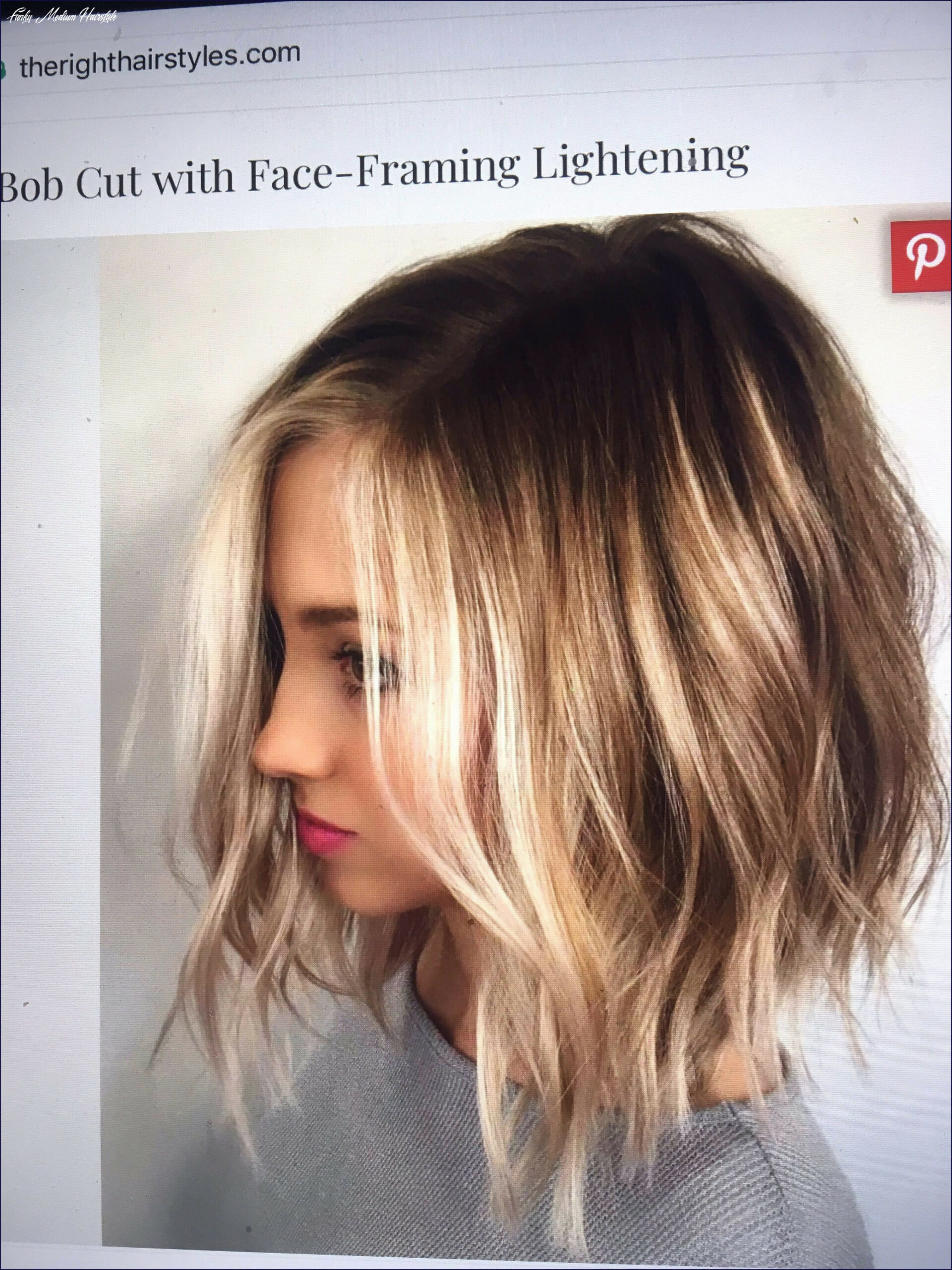 Images of medium length hair best of fashion funky hairstyles