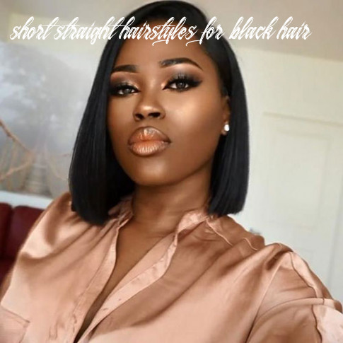 In style short haircuts for black women crazyforus short straight hairstyles for black hair