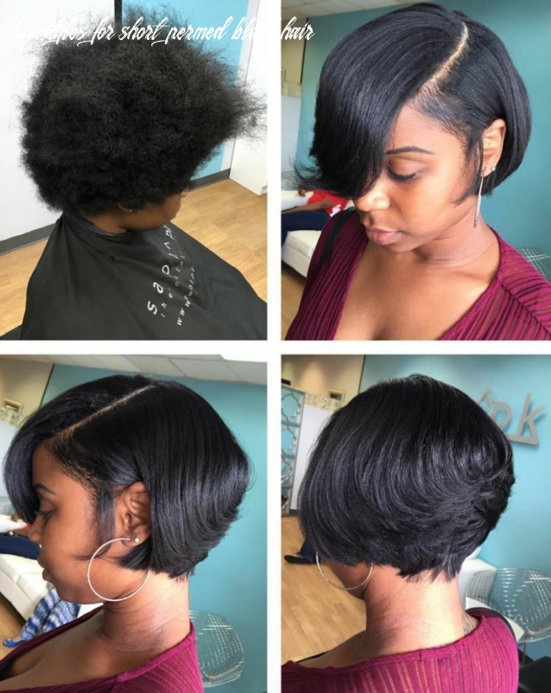 In the name of relaxer | short bob hairstyles, straightening