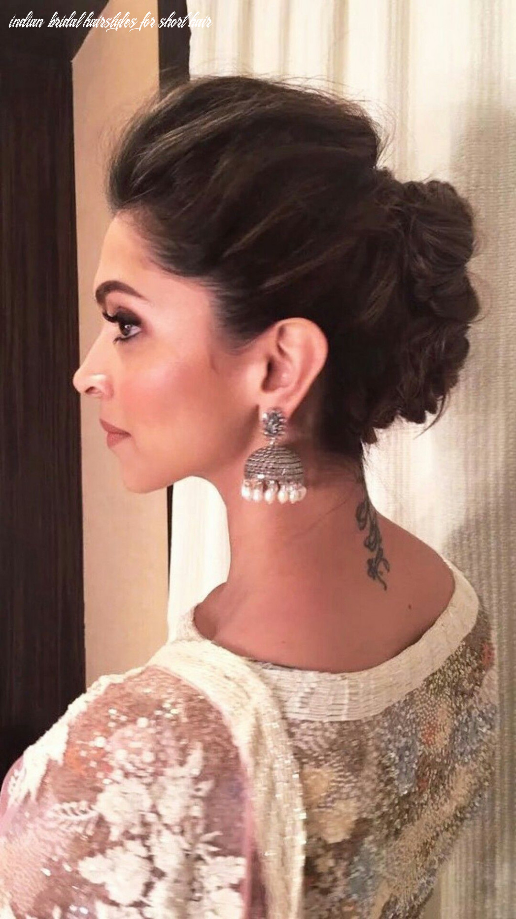 Indian hairstyle for short hair awesome 8 best indian bridal