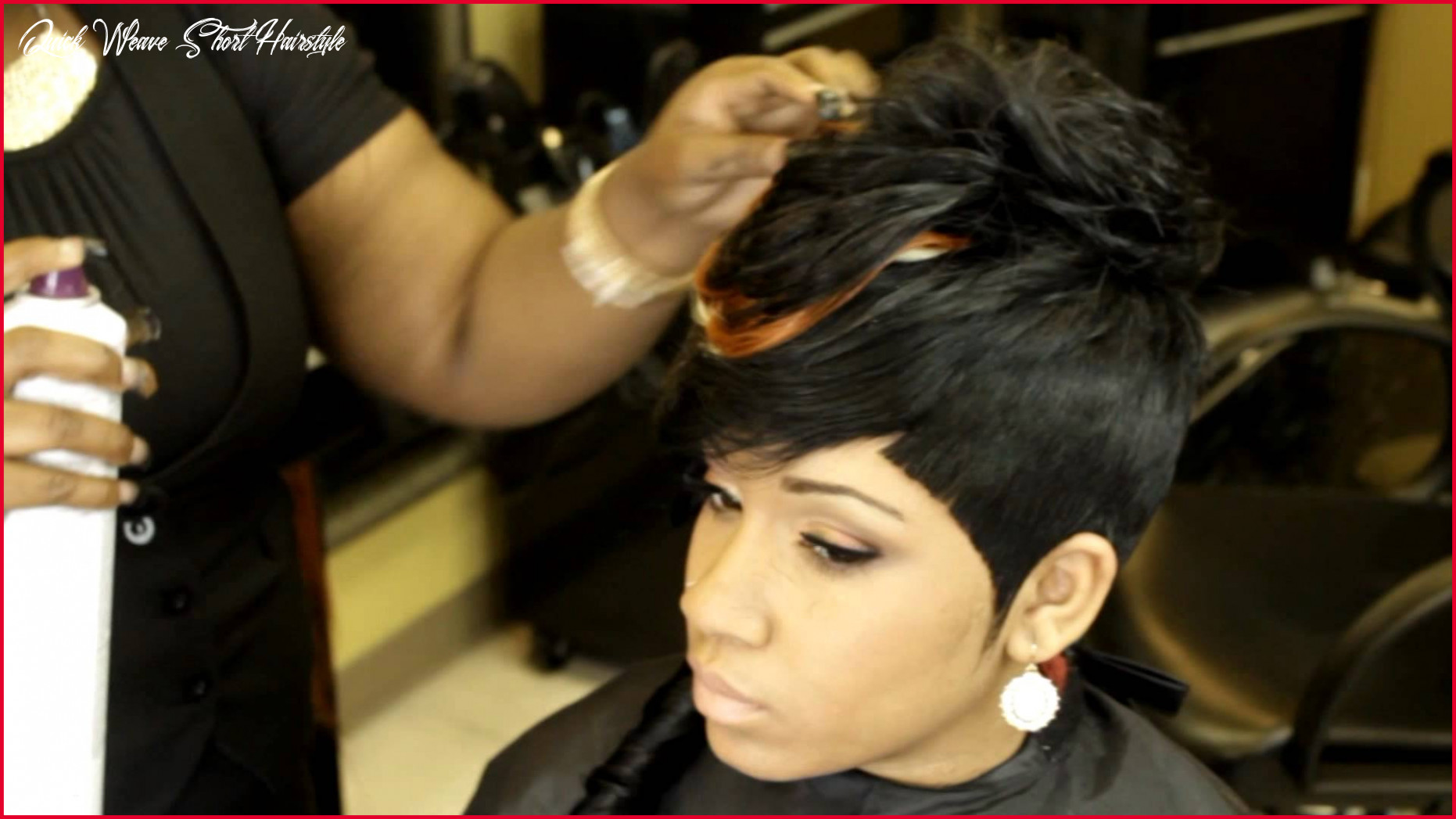 Inspirational short black quick weave hairstyles pics of