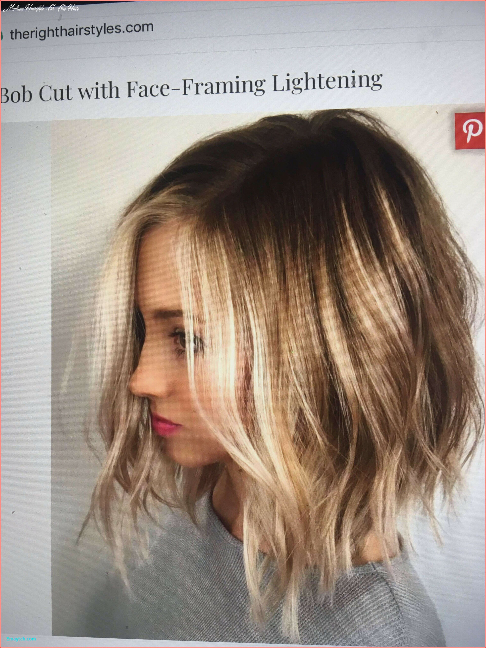Inspiring short to medium hairstyles for fine hair gallery of
