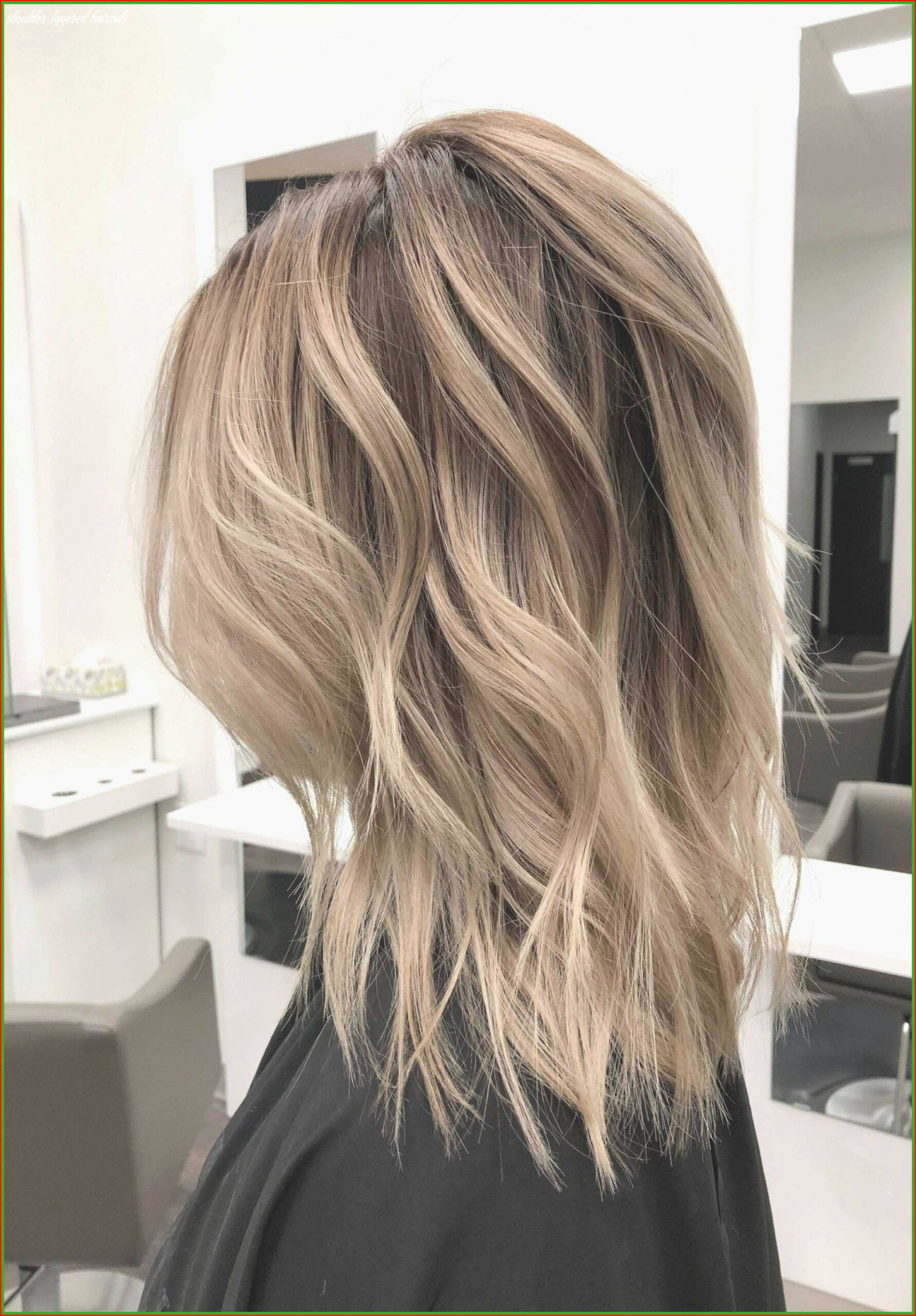 Inspiring Shoulder Length Layered Haircuts for Thick Hair Photos ...