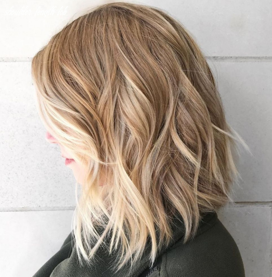 Inverted sliced lob | thick hair styles, haircut for thick hair