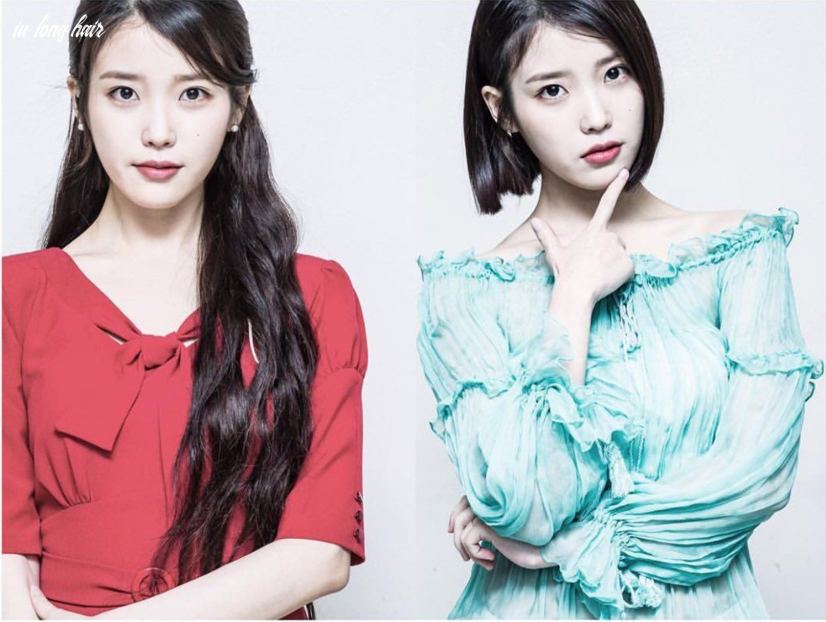 Iu • lee ji eun • 아이유 long hair and short hair | long hair