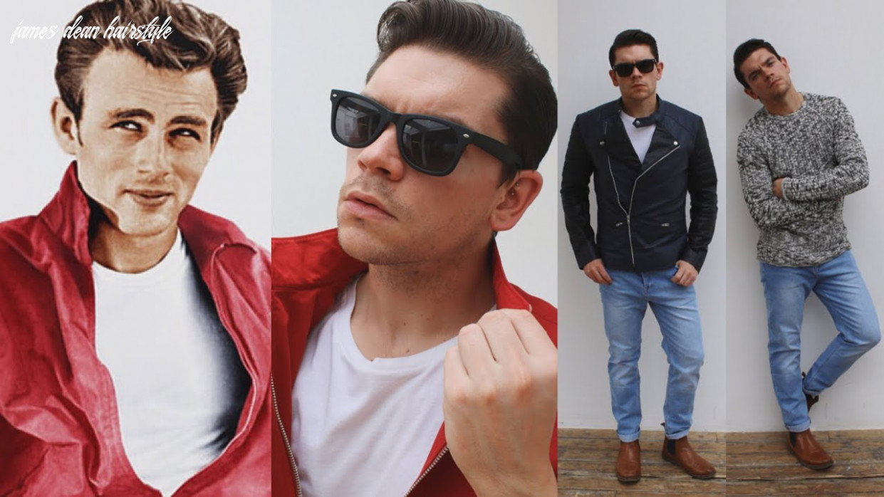 James dean   hairstyle and clothing james dean hairstyle