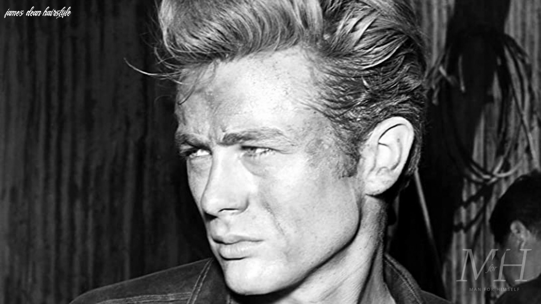 James dean: swept back hairstyle   man for himself james dean hairstyle