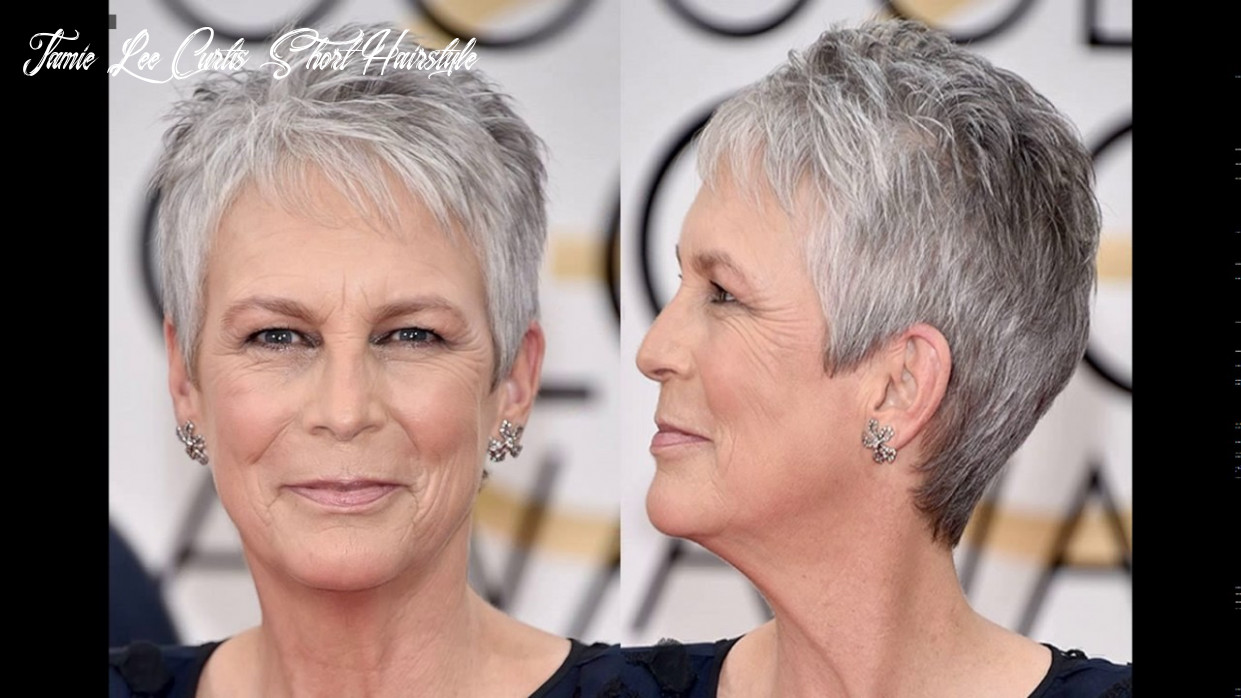 Jamie lee curtis short haircut style youtube jamie lee curtis short hairstyle
