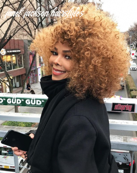 Janet jackson debuts new hairstyle just in time for spring [photo