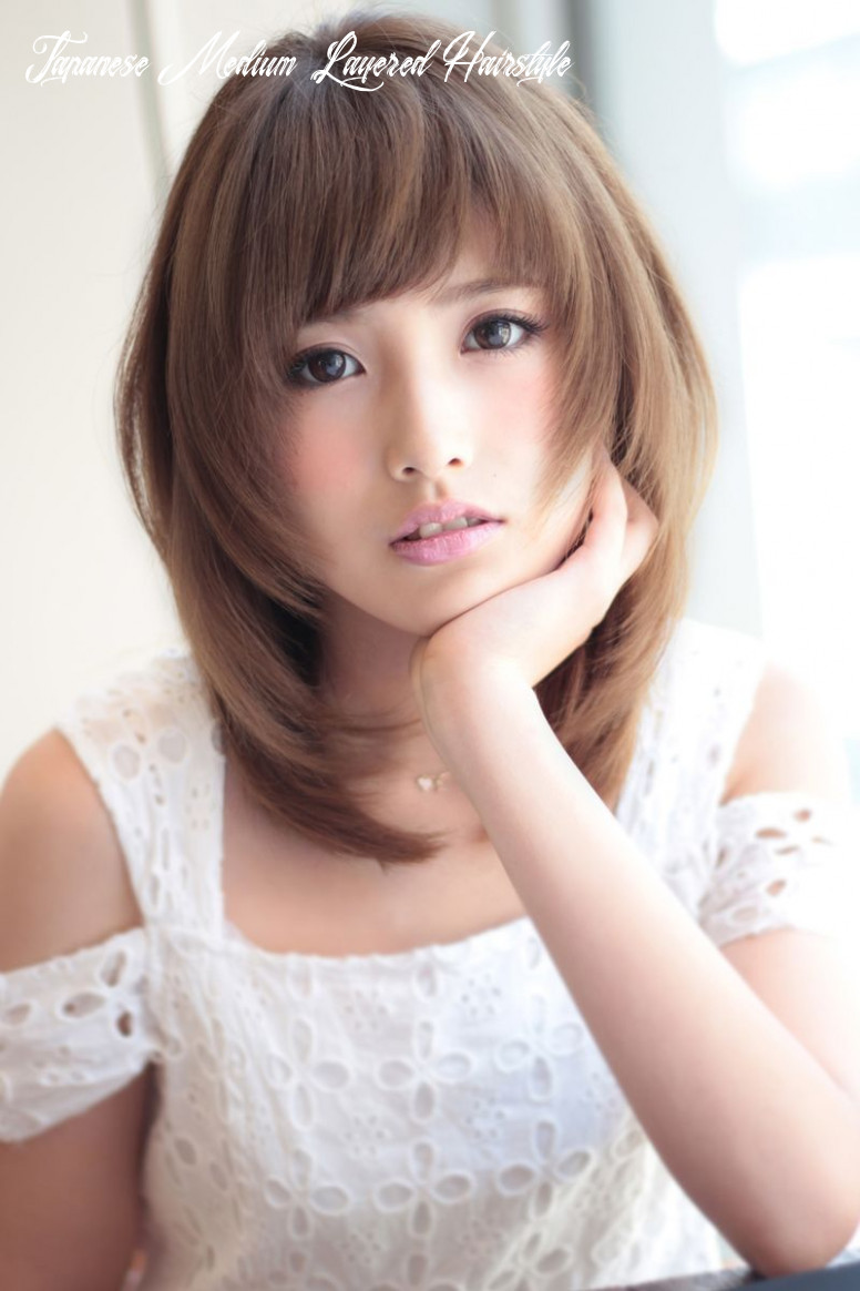 Japanese #Asian | Medium hair styles, Cute hairstyles for medium ...
