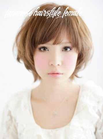 Japanese hairstyles gallery | short hair styles for round faces