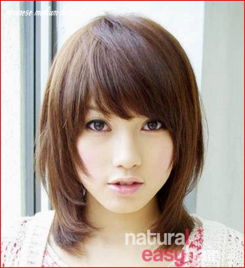 Japanese hairstyles with specific features and designs | japanese