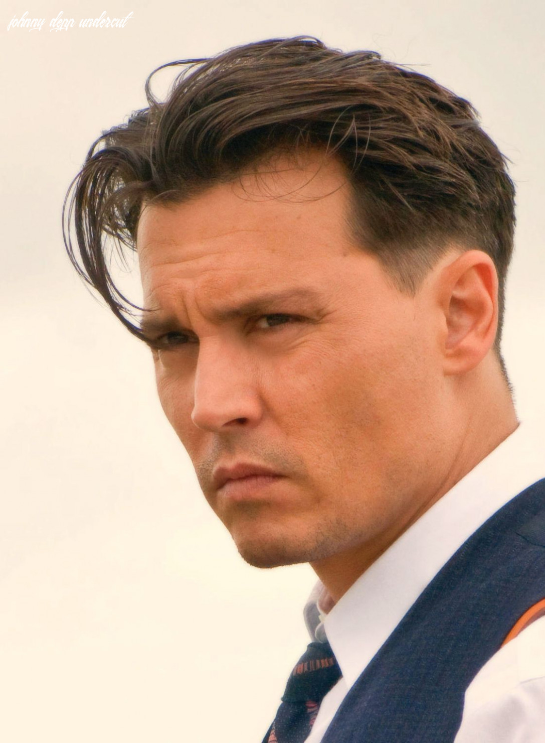 John dillinger classic haircut | johnny depp hairstyle, johnny