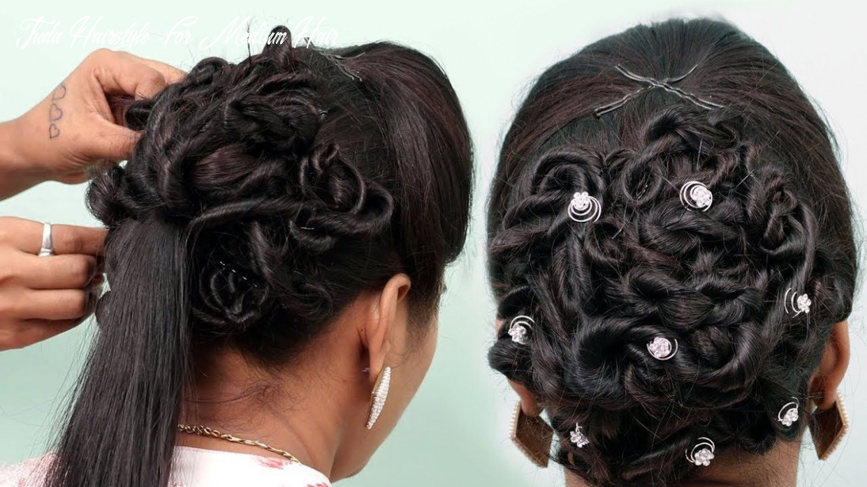 Juda hairstyle for wedding | easy wedding hairstyle for party