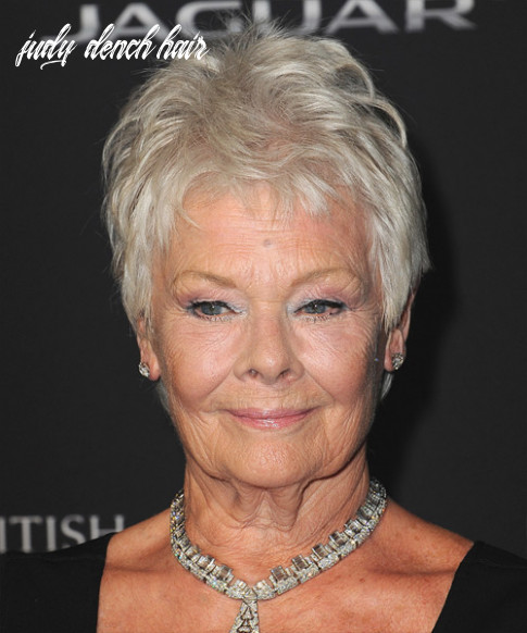 Judi dench hairstyles, hair cuts and colors judy dench hair