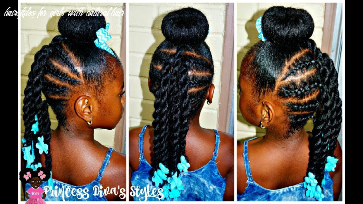 Just another bun hairstyle | little girls | 11a natural hair hairstyles for girls with natural hair