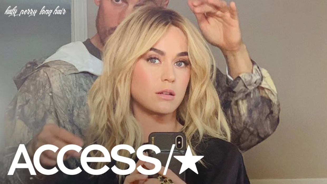Katy perry ditches her pixie cut for long blonde waves: see her jaw dropping hair makeover! katy perry long hair