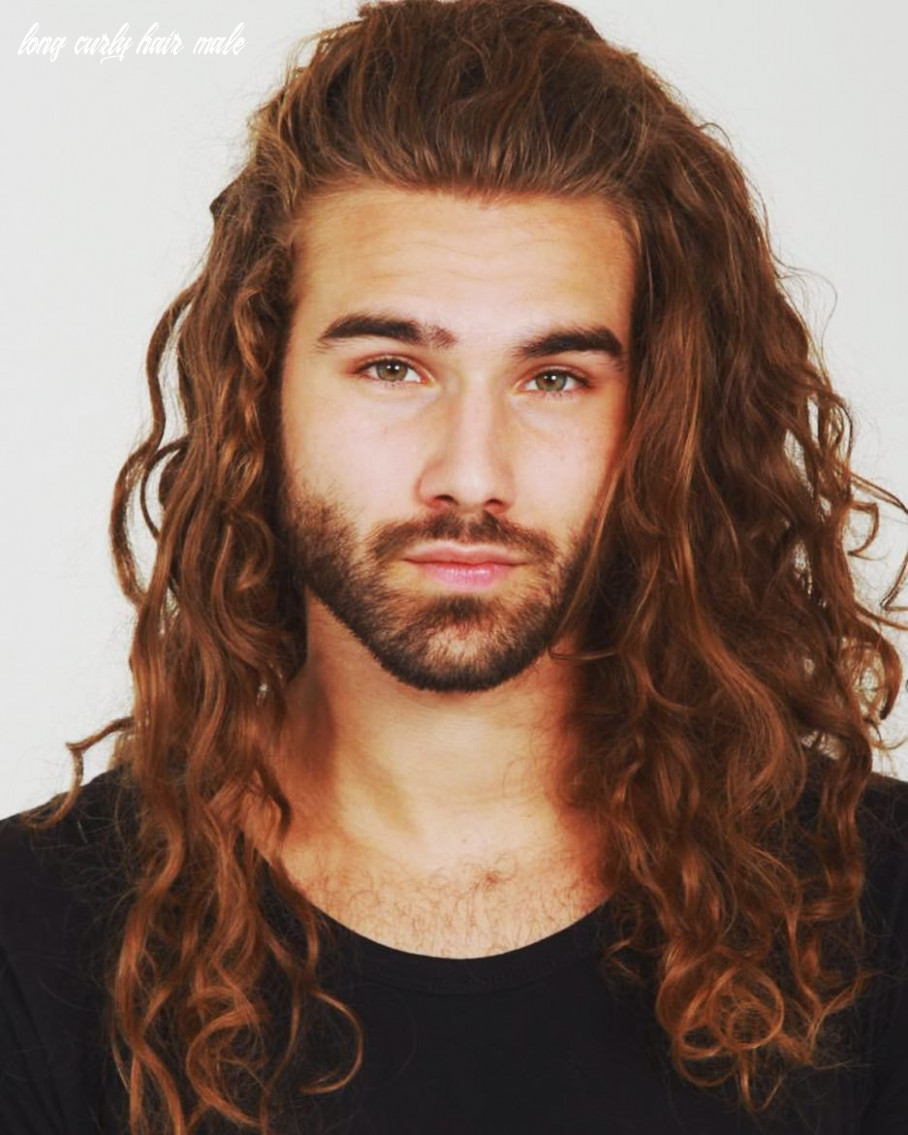 Ken stoffers / curly hair inspiration / men with curly hair