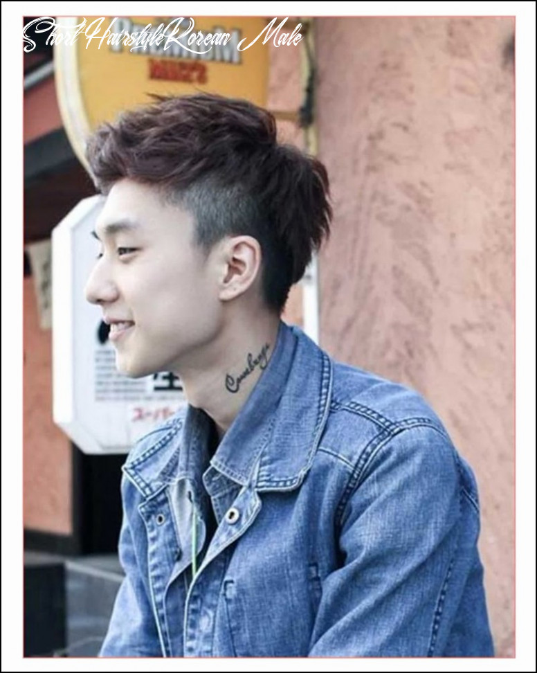 Korean boy hairstyle posted by michelle walker short hairstyle korean male