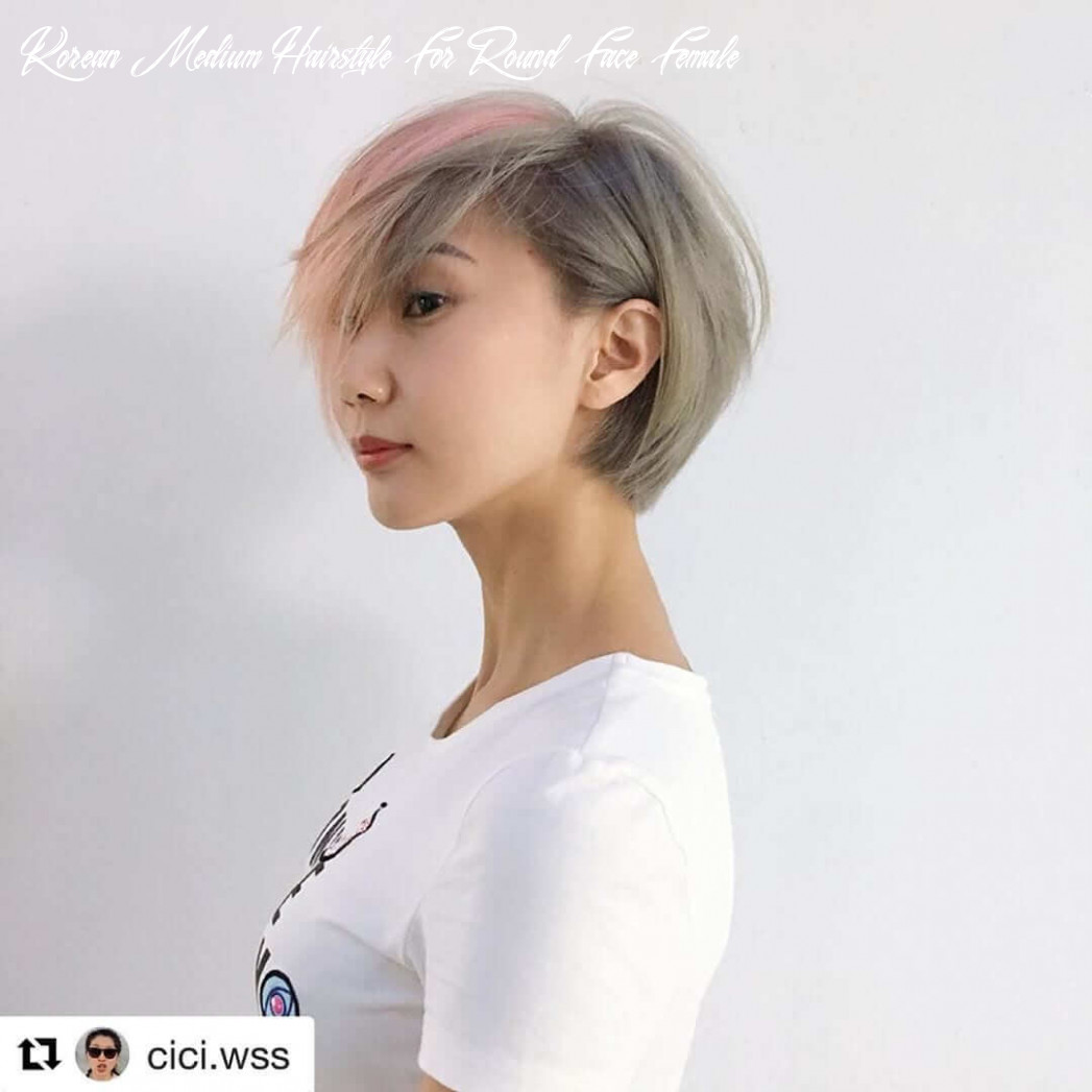 Korean short haircuts for round faces 10 korean medium hairstyle for round face female
