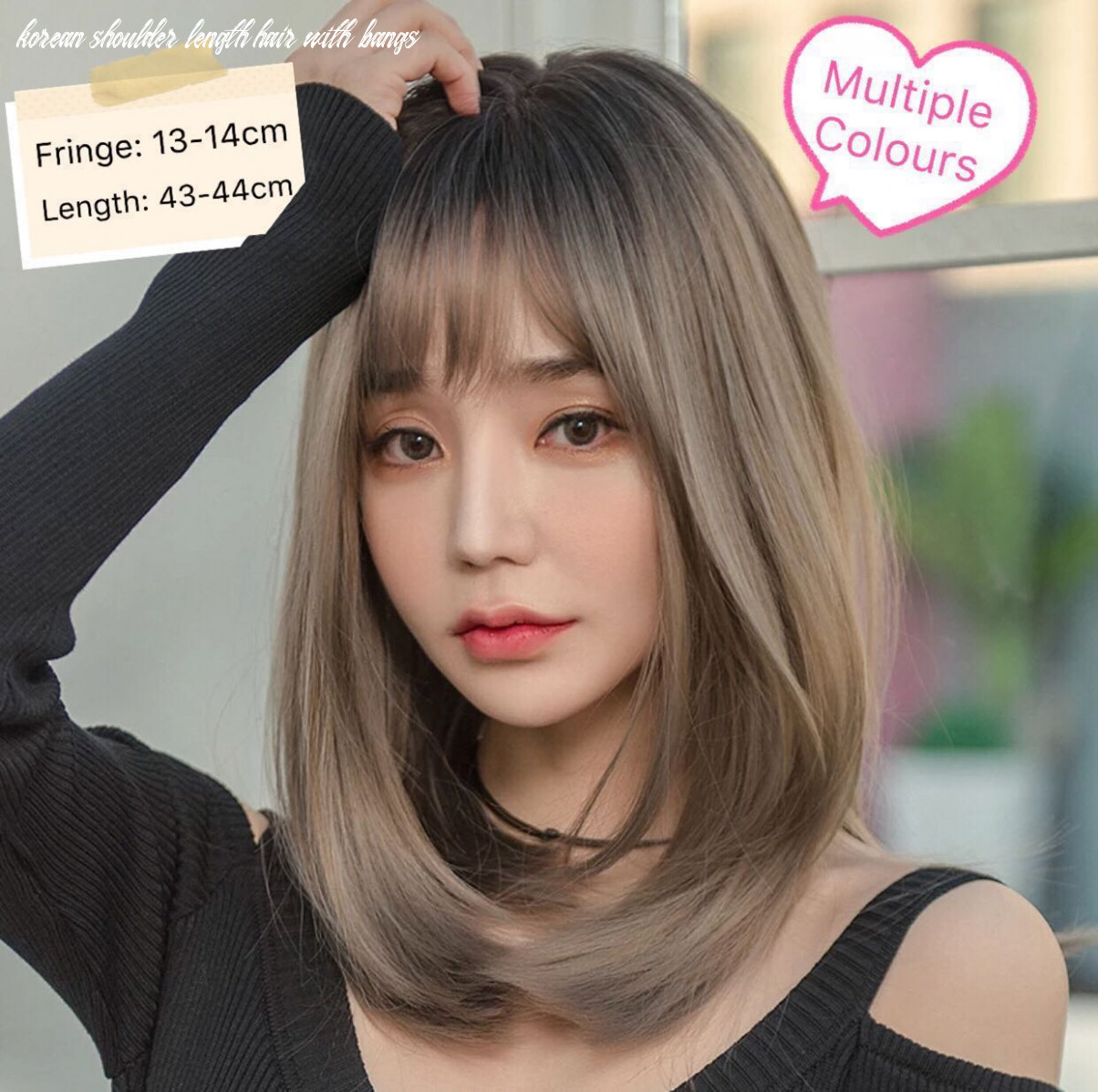 Korean shoulder length hair | find your perfect hair style korean shoulder length hair with bangs
