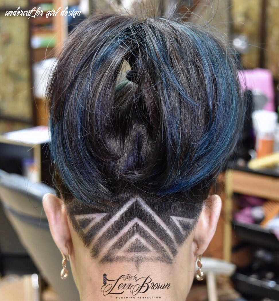 Ladies kuts by #lexxbrown a freestyle design on a undercut