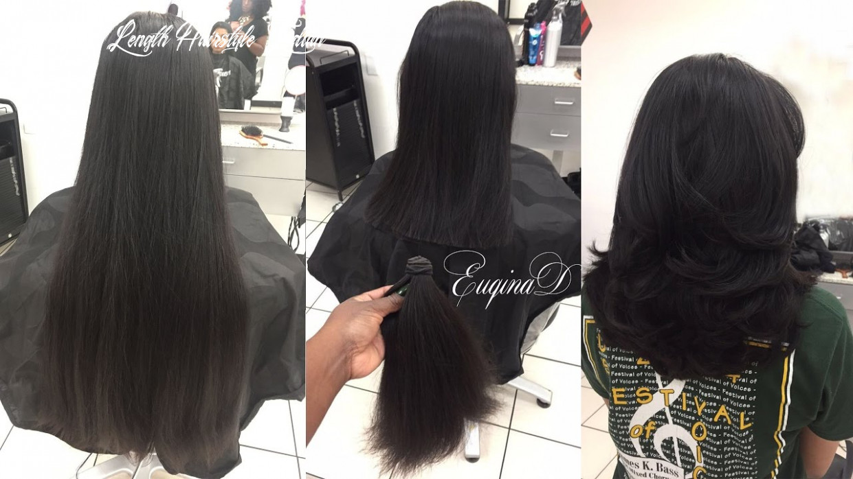 Layered haircut after locks of love donation thick indian hair medium length hairstyle indian