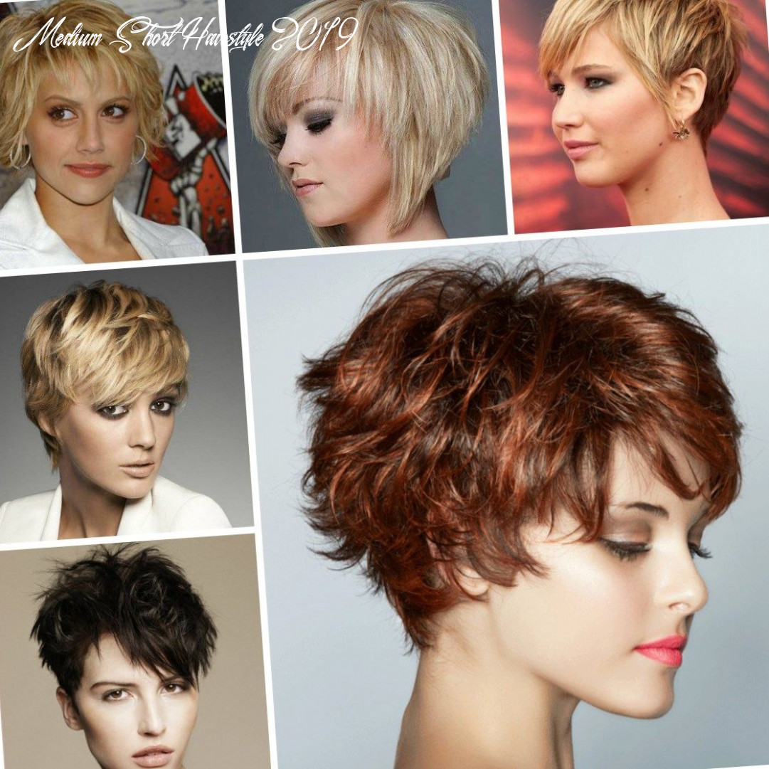 Layered haircuts for short hair 12 medium short hairstyle 2019