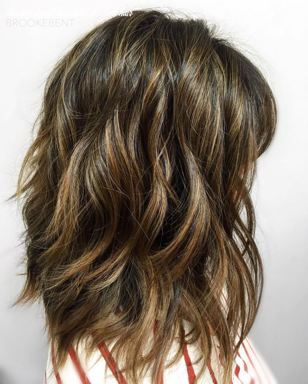 Layered hairstyles shoulder length thick hair shoulder length hairstyles for thick hair