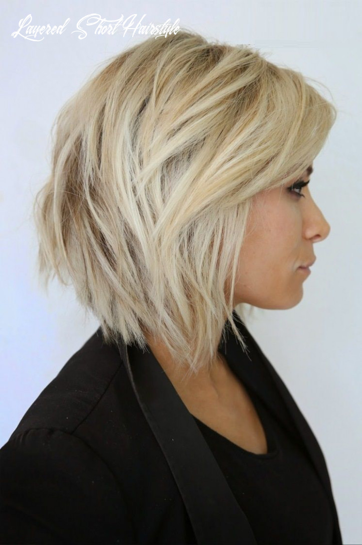 Layered short hairstyles 9 perfect & easy to style ideas