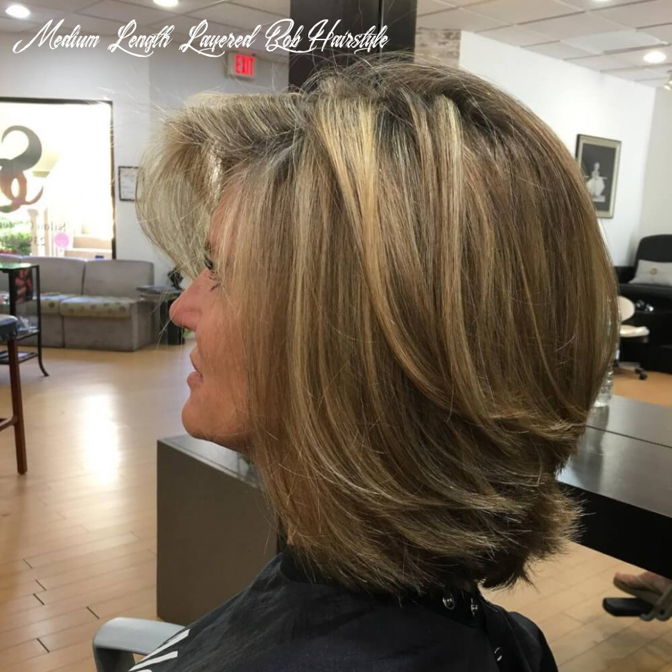Learn more about some stylish haircuts for women over fifty medium length layered bob hairstyle