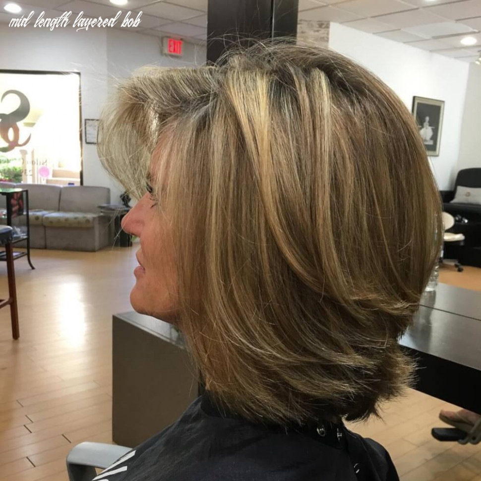 Learn more about some stylish haircuts for women over fifty mid length layered bob