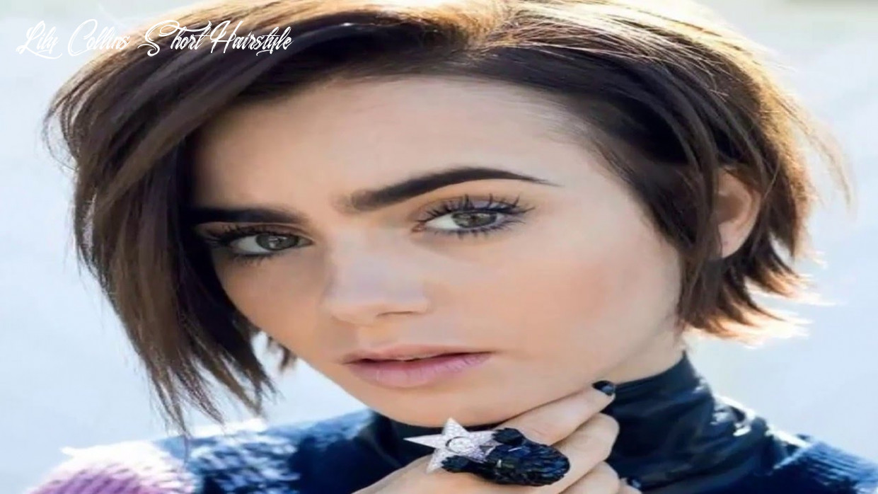 Lily collins short hair styles youtube lily collins short hairstyle
