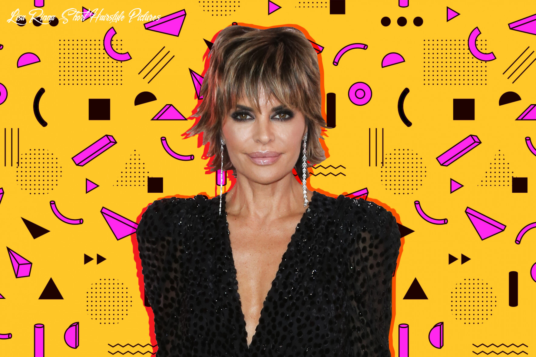Lisa rinna wears shoulder length lob hairstyle, ditches signature